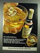 1972 Ronrico Gold Label Rum Ad - The Golden Delicious