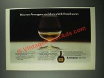1977 Armagnac Brandy Ad - Share a Little French Secret