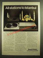 1978 Bang & Olufsen Beocenter 3300 Ad - All Stations to Istanbul
