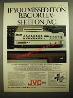 1978 JVC Home Video System A d- If You Missed it on BBC or ITV