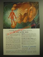1955 Union Carbide Ad - The Voice of the Atom