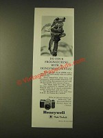 1962 Honeywell Pentax H-1 and H3 Cameras Ad - Do Your Frogwatching