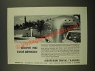 1967 Airstream Travel Trailers Ad - Real Travel Adventure