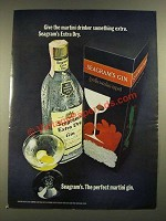 1971 Seagram's Extra Dry Gin Ad - Give the Martini Drinker
