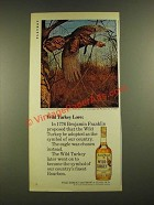 1979 Wild Turkey Bourbon Ad