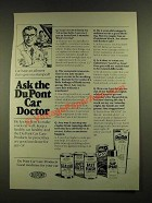 1979 Du Pont Car Care Products Ad - Ask the Car Doctor