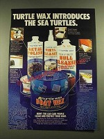 1979 Turtle Wax Boat Wax Ad - The Sea Turtles