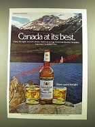1979 Canadian Mist Whisky Advertisement - Canada At Its Best