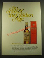 1979 Haig Golden Age Scotch Ad - An Echo of the Golden Age