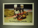 1979 Tabac Toiletries Ad - Try a Touch of Tabac