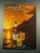 1981 Canadian Mist Whisky Ad