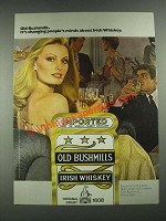1981 Old Bushmills Irish Whiskey Ad - It's Changing People's Minds