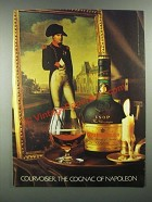 1983 Courvoisier Cognac Ad - The Cognac of Napoleon