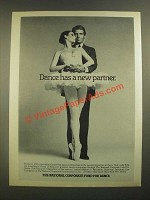1988 The National Corporate Fund for Dance Ad - Dance Has a New Partner