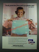 1988 Depend Fitted Briefs Ad - June Allyson - Mom and I Can Live With