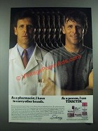1988 Tinactin Antifungal Treatment Ad - As a Pharmacist