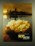 1988 Land O Lakes Butter Ad - When the Flavor Really Counts