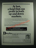 1988 Dreyfus Strategic Aggressive Fund Ad - At Last