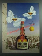 1988 Grand Marnier Liqueur Ad - A Grand View Indeed