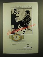 1988 Omega Constellation Watch Ad - Just the Two of You