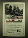 1988 United States Department of Agriculture Forest Service Ad