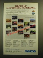 1988 Mazda Motor Corporation Ad - An Enriching Experience