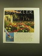 1988 The Cloister Sea Island, GA Ad - Sparkler
