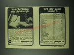 1976 Remington Grit-Edge Blades Ad - Trim Tile With Style