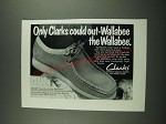 1974 Clarks Wallabee Shoes Ad - Only Clarks Could Out-Wallabee