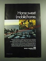 1971 Bank of America Ad - Home Sweet (Mobile) Home