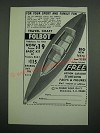 1971 Folbot Boat Ad - For Your Sport and Family Fun