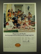1969 Pacific Area Travel Association Ad - Home From the Pacific