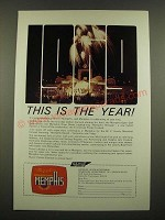 1969 Memphis Tennessee Tourism Ad - This is The Year