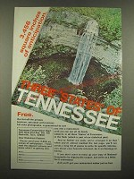 1969 Tennessee Tourism Ad - 3,456 Square Inches of Anticipation