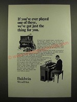1969 Baldwin Home Organ Ad - If You've Ever Played One of These