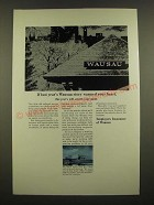 1969 Employers Insurance of Wausau Ad - Warmed Your Heart