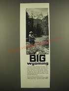 1968 Wyoming Travel Commission Ad - Big Wyoming