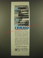 1968 Idaho Department of Commerce and Development Ad - Would Like to Be