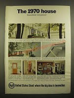 1967 USS United States Steel Ad - The 1970 House