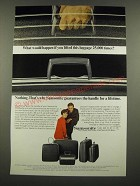 1967 Samsonite Silhouette Luggage Ad - If You Lifted 25,000 Times