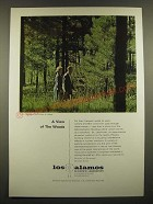 1966 Los Alamos Scientific Laboratory Ad - A View of the Woods