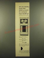 1966 Hewlett-Packard Datamec D 3029 and D 2030 Tape Units Ad