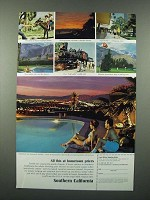 1966 Southern California Ad - All This At Hometown Prices