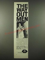 1965 3M ABC-TV The Way-Out Men TV Special Ad