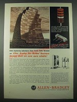 1965 Allen-Bradley Ad - Hot Molded and Type R Adjustable Fixed Resistors