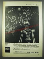 1965 Carl Zeiss Planetarium Projector Ad
