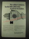 1964 Bell & Howell Canon Dial 35 Camera Ad - No Other Looks Like This