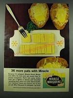 1963 Kraft Miracle Margarine Ad - 36 More Pats with Miracle