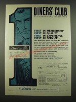 1962 Diners' Club Credit Card Ad
