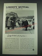 1961 Liberty Mutual Ad - The Company That Stands By You